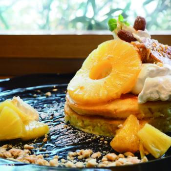白味噌パンケーキ   ~白味噌×pancake&coffeeそらみる~