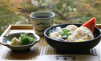 池利三輪素麺茶屋「千寿亭」