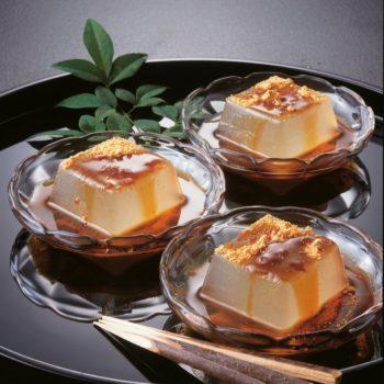 吉野の葛餅(黒蜜・きな粉つき)ミニサイズ5個入