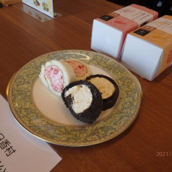 米粉ロールケーキ(アスカルビーと温州ミカン)